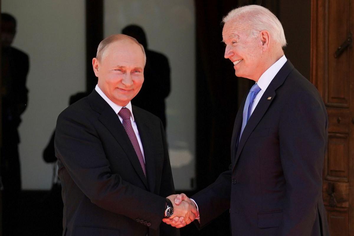 Biden pointedly asks Putin about cyberattacks at summit