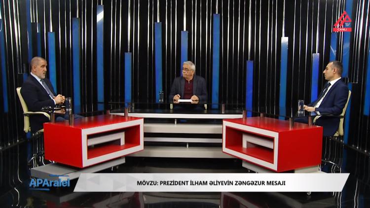 Prezident İlham Əliyevin Zəngəzur mesajı - Rauf Arifoğlu, Araz Aslanlı | APAralel