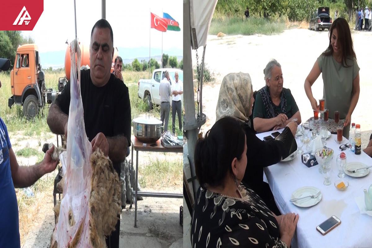 Zəngilanda 28 ildən sonra ilk Qurban bayramı  - <span class=