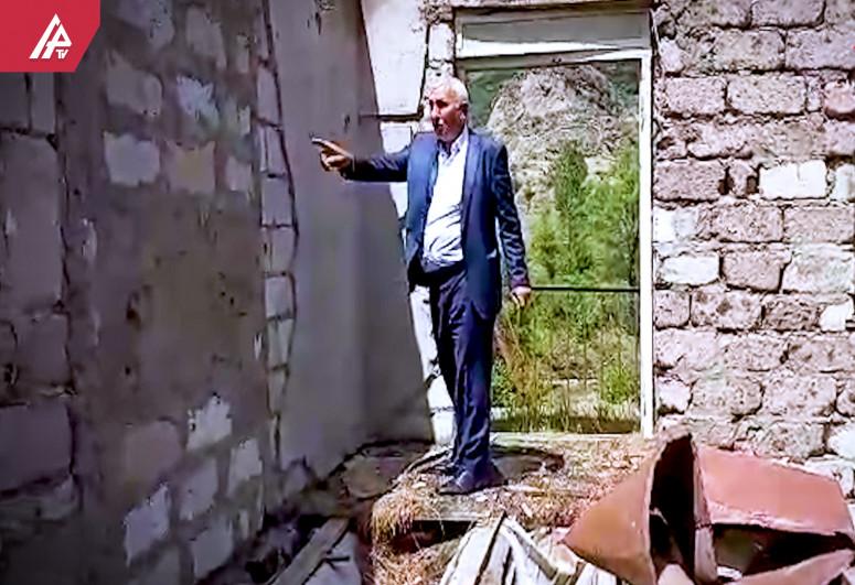 Laçının Zeyvə kənd sakini 29 il sonra evində - ŞƏRHSİZ