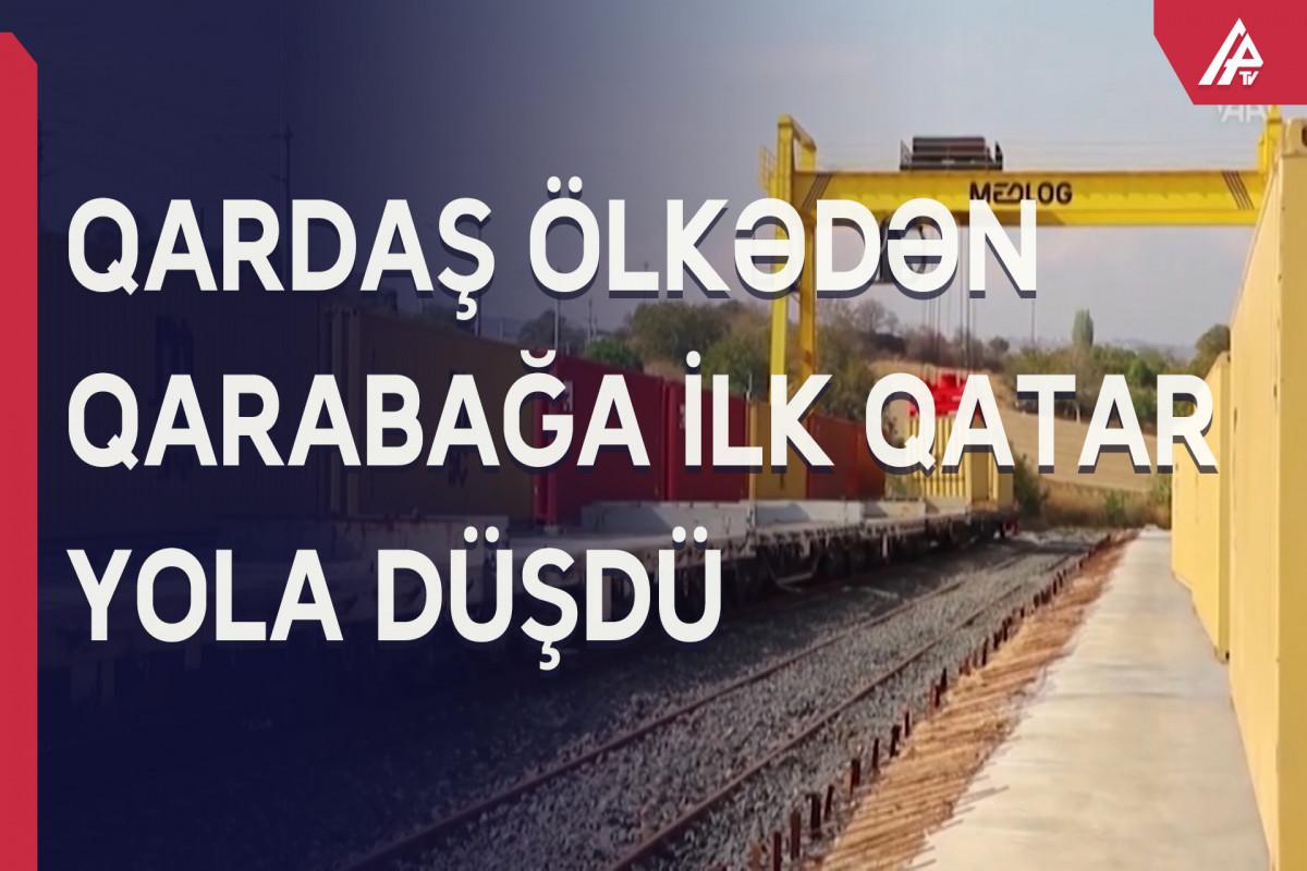 İstanbuldan Qarabağa ilk dəfə qatar yola salındı – ŞƏRHSİZ