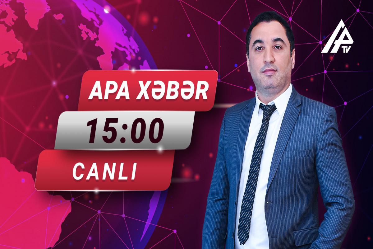 """Fəaliyyəti dayandırılan qida müəssisələri yenidən işləyir? - """"APA XƏBƏR""""-in saat 15:00 buraxılışı"""