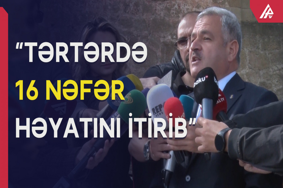 """İcra başçısı: """"Müharibə dövründə Tərtərə 21 """"Smerç"""" raketi atılıb"""""""
