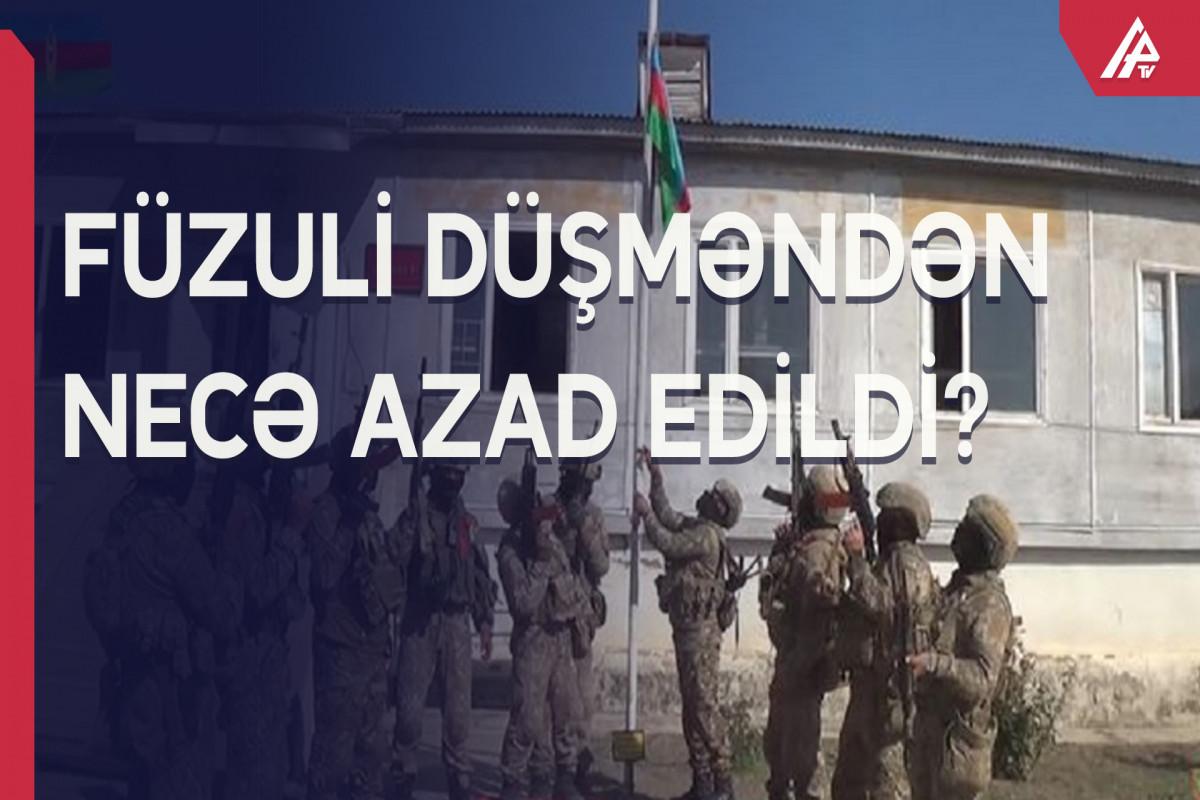 Azərbaycan ordusunun seçdiyi müəkəmməl hücum taktikası…