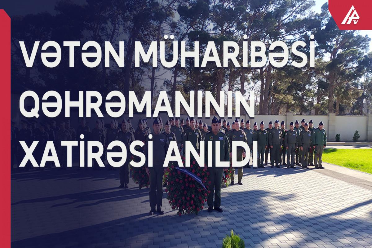 Vətən Müharibəsi Qəhrəmanı Ramiz Qasımovun anım mərasimi keçirilib