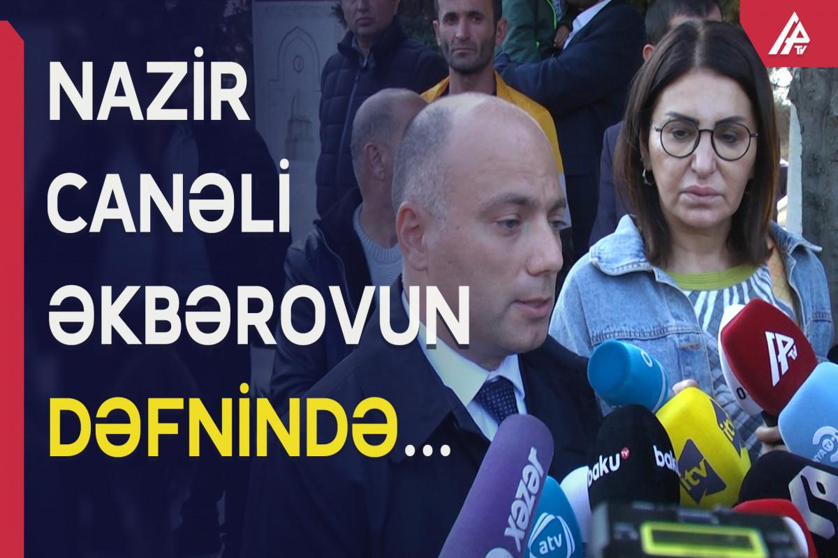 """Anar Kərimov: """"Canəli Əkbərovun vəfatı Azərbaycan mədəniyyəti üçün böyük itkidir"""""""