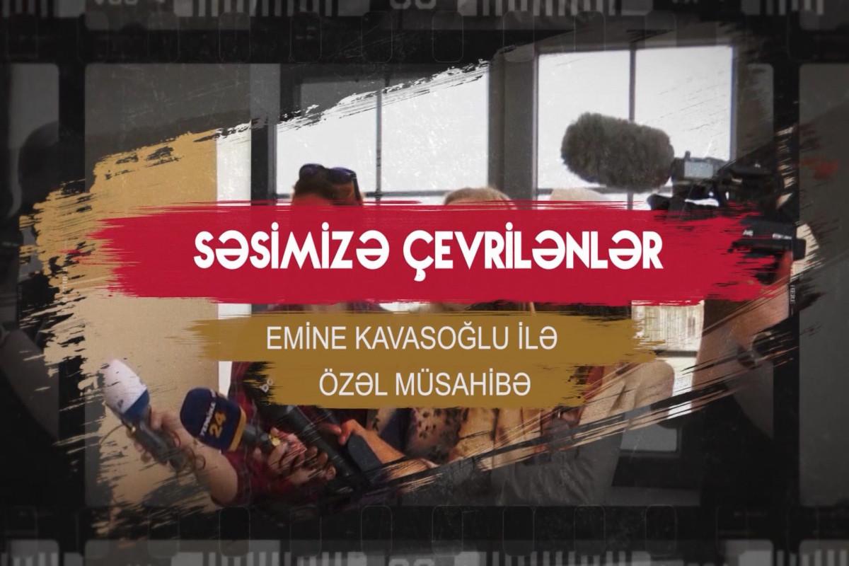 """""""Qarabağda işğala, zülmə son qoyuldu"""" - VƏTƏN MÜHARİBƏSİ EMİNE KAVASOĞLUNUN GÖZÜ İLƏ"""