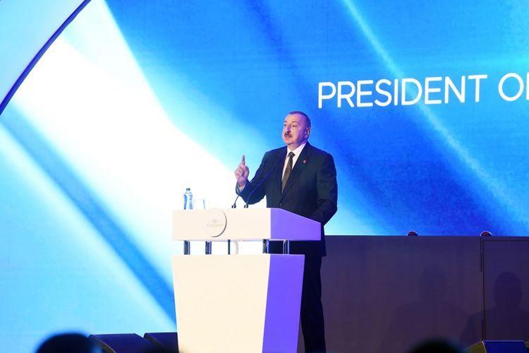 Президент Азербайджана: Уверен, что жизнь TANAP будет долгой