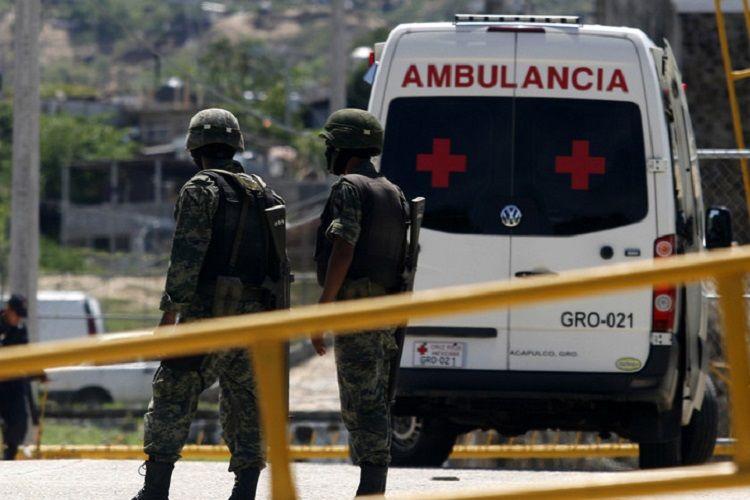 Meksikada narkokartel üzvlərinin hücumu zamanı 5 nəfər öldürülüb