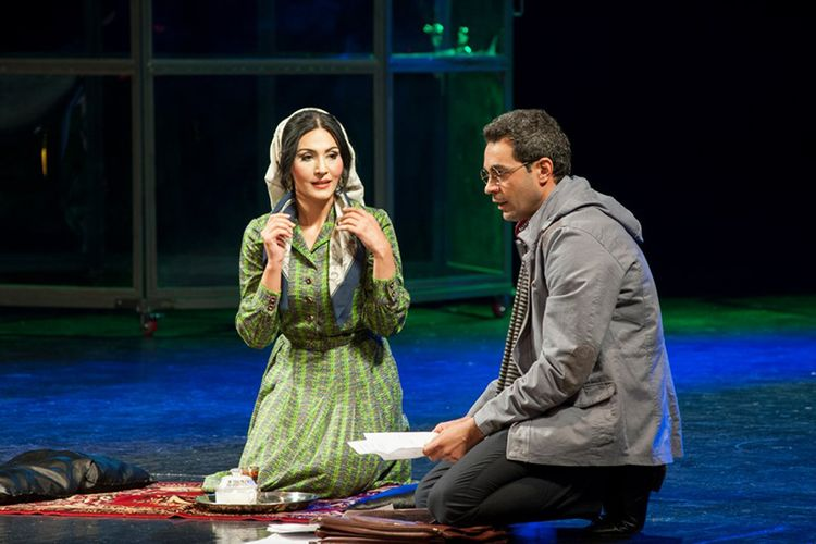 """Akademik Milli Dram Teatrında """"Yaşar"""" tamaşasının premyerası keçirilib"""