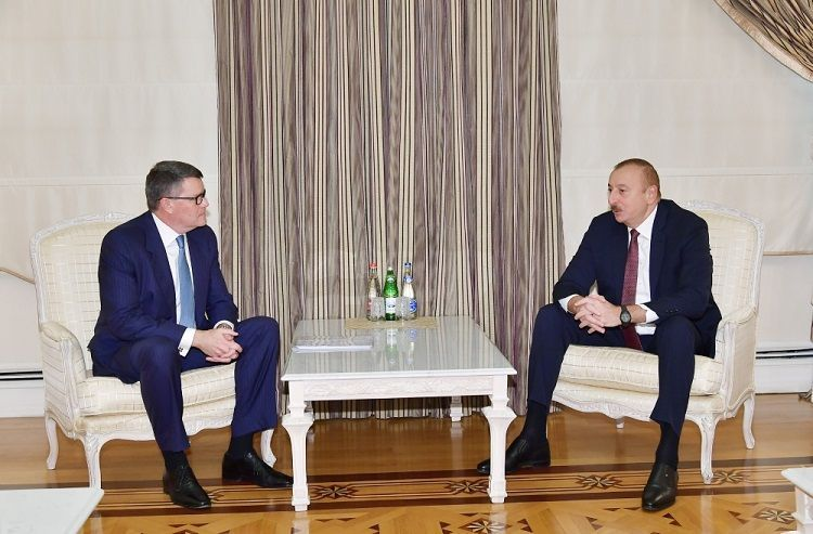 Президент Ильхам Алиев принял вице-президента компании CISCO по глобальным инновациям - ОБНОВЛЕНО