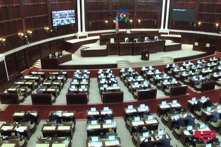 Текст обращения парламента к президенту в связи с роспуском Милли Меджлиса
