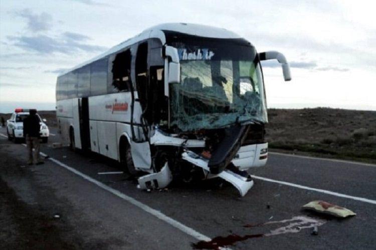 İranda baş verən qəzada 3 nəfər ölüb, 24 nəfər yaralanıb