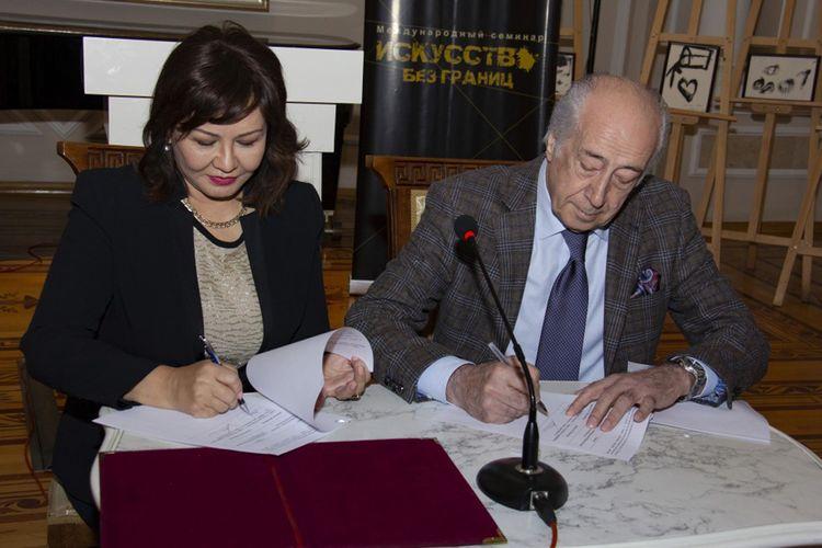 Azərbaycan və Qazaxıstan muzeyləri arasında əməkdaşlığa dair memorandum imzalanıb