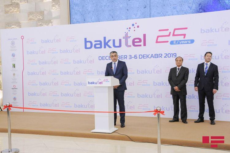 """""""Bakutel 2019"""" sərgisi işə başlayıb - FOTO"""