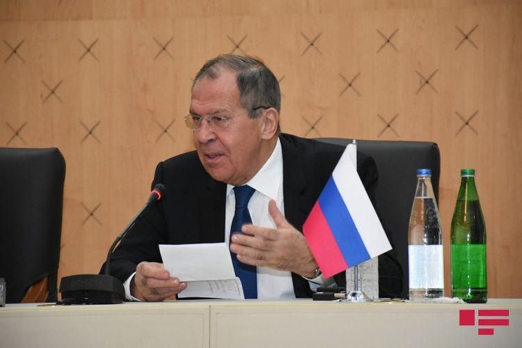 """Sergey Lavrov: """"Biz başa düşürük ki, Dağlıq Qarabağ məsələsində çətin olsa da, kompromis üçün imkanlar var"""""""