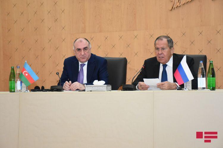 Лавров: Военно-техническое сотрудничество РФ-Азербайджан является одной из основных сфер стратегического партнерства