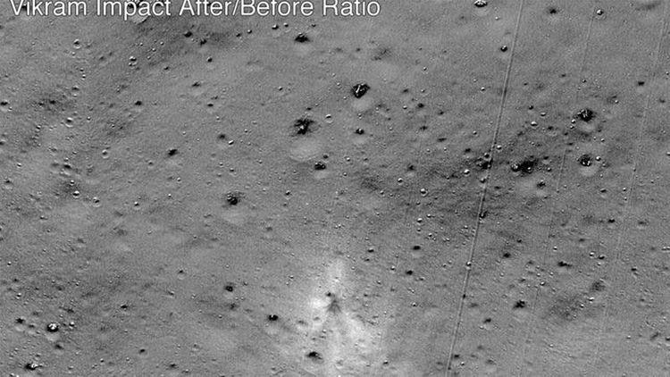 NASA Hindistanın Ayın səthində qəzaya uğramış kosmik aparatının qalıqlarını tapıb