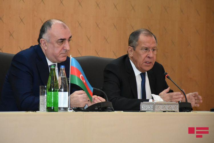 """Lavrov: """"Bratislavada iki nazir və Minsk qrupu həmsədr ölkələri XİN başçılarının birgə bəyanatının qəbul olmasına çalışacağıq"""""""