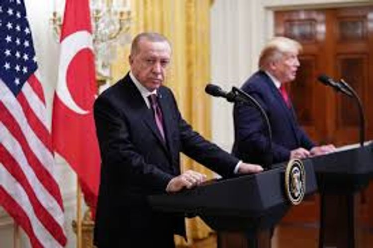 """Trump: """"I like Turkey and get along well with President Erdogan"""""""
