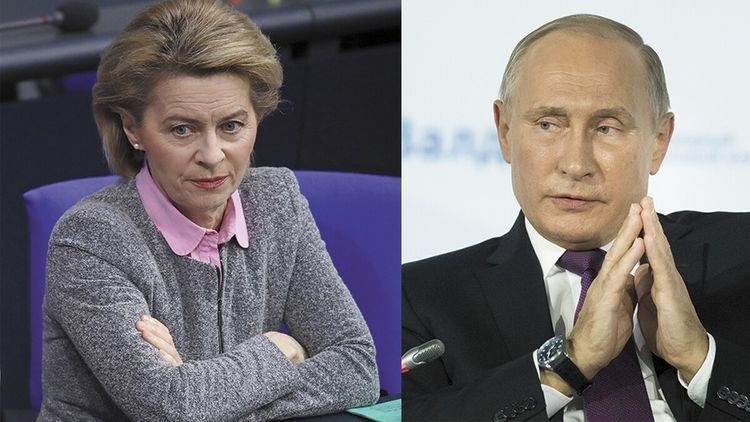 Russian President had phone call with new president of European Commission