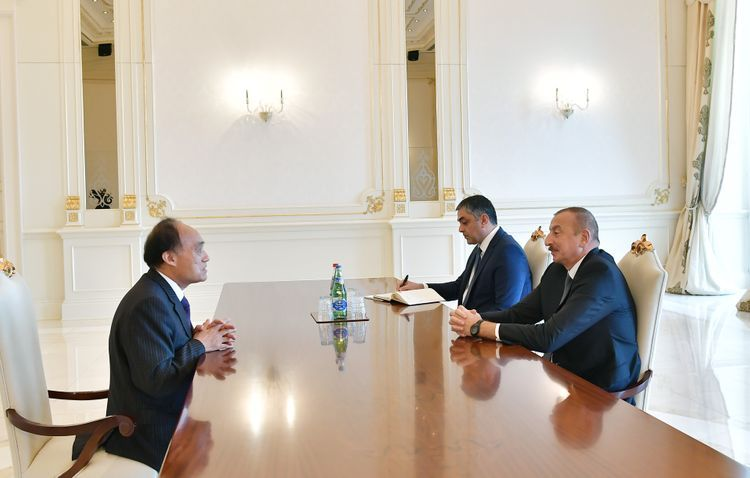 Президент Азербайджана принял генерального секретаря Международного телекоммуникационного союза