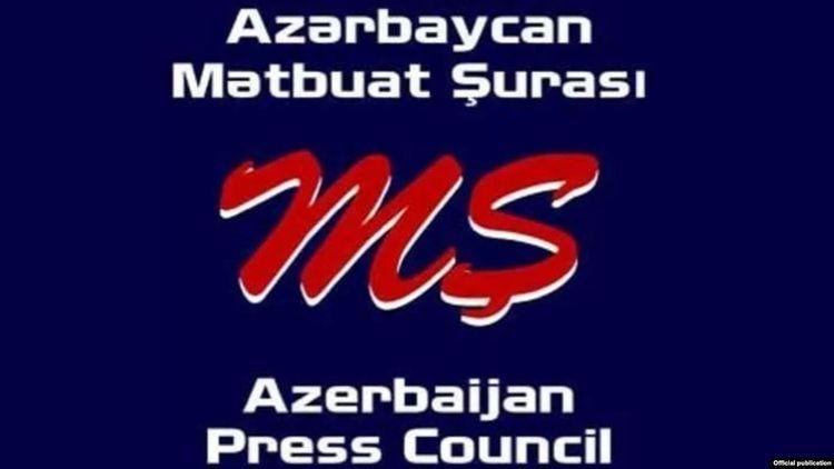 Совет прессы Азербайджана направил обращение в Союз журналистов России