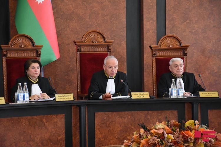 Конституционный Суд принял решение о соответствии Конституции роспуска Милли Меджлиса - ОБНОВЛЕНО-1