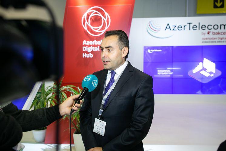 AzerTelecom представляет программу «Azerbaijan Digital Hub» на выставке «Bakutel»