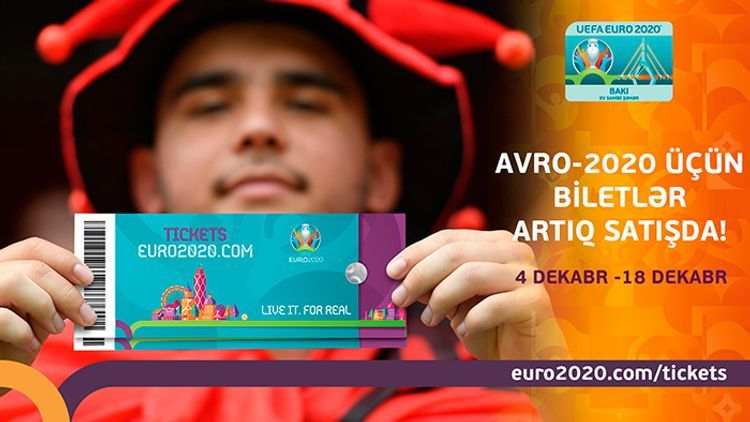 2nd stage of ticket sale for Euro- 2020 starts