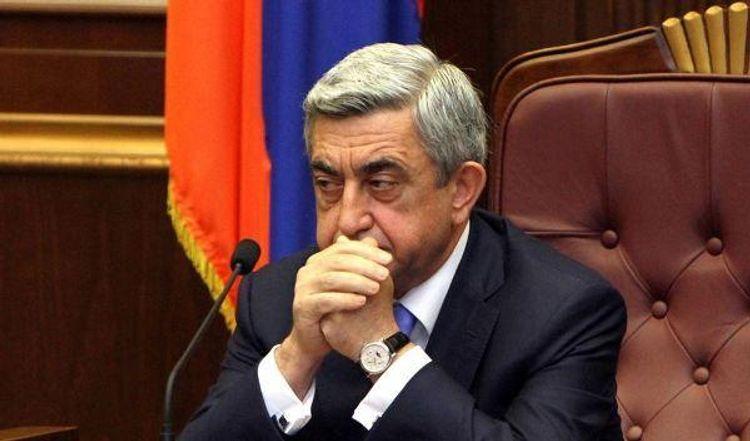 Сержу Саргсяну предъявлено обвинение  в организации хищения денежных средств