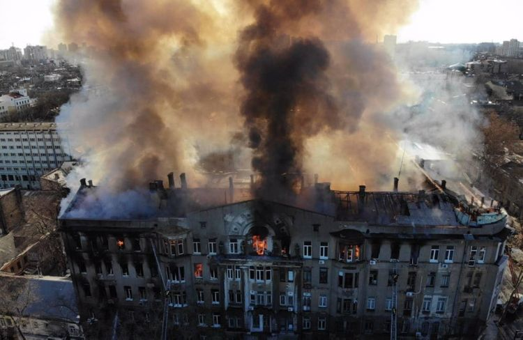1 dead, 29 hospitalized in central Odesa college fire - UPDATED