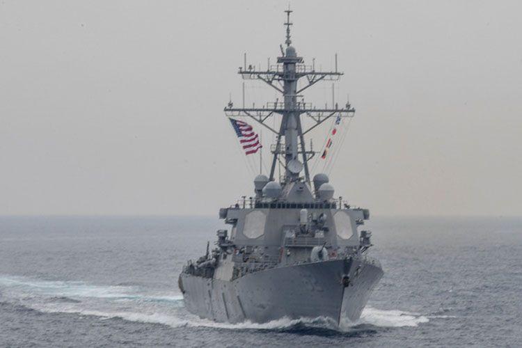 ABŞ Oman körfəzində İrana aid silahlar olan gəmi saxladığını iddia edir