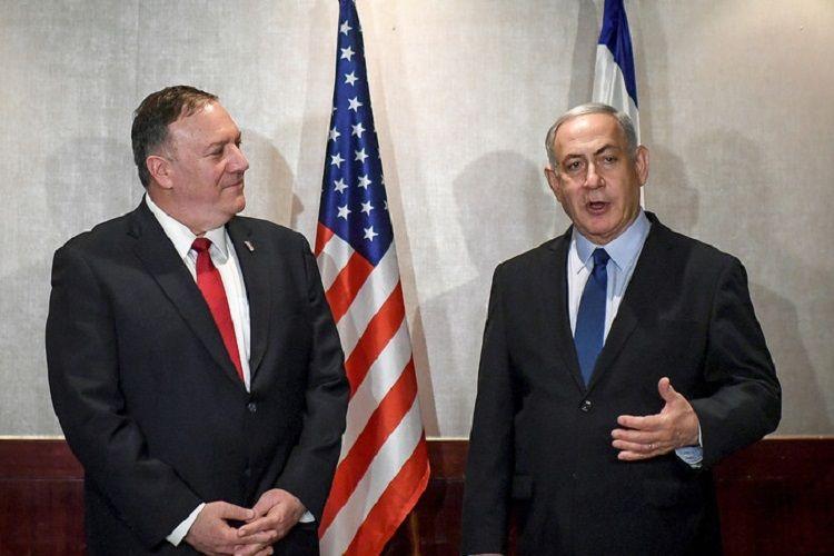 Pompeo Netanyahu ilə İranı və İsrailin təhlükəsizliyini müzakirə edib