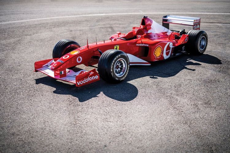 Ex-Schumacher Ferrari becomes second-most expensive F1 car sold at auction