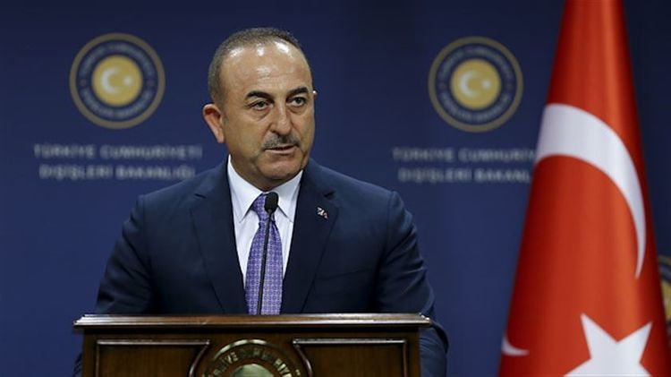 """Mevlut Cavusoglu: """"We should find solution to Nagorno Garabagh conflict based on territorial integrity"""""""