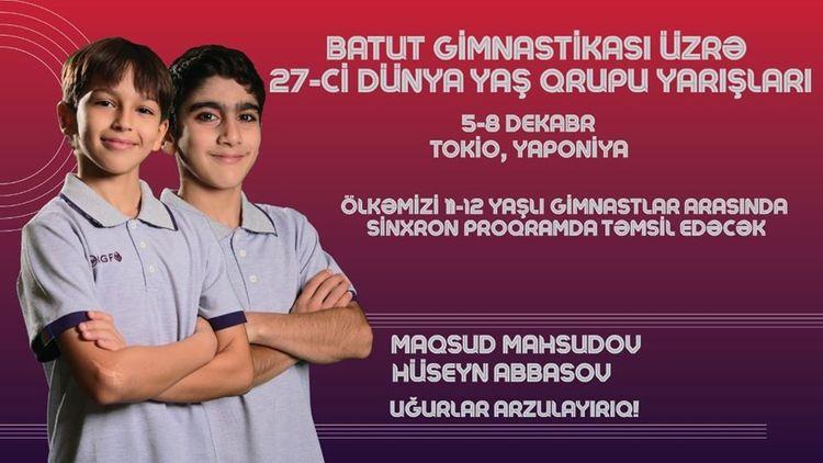 Azərbaycan gimnastları Dünya Yaş Qrupu Yarışlarında gümüş medal qazanıb