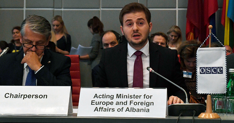 Priorities of Albania during OSCE chairmanship revealed