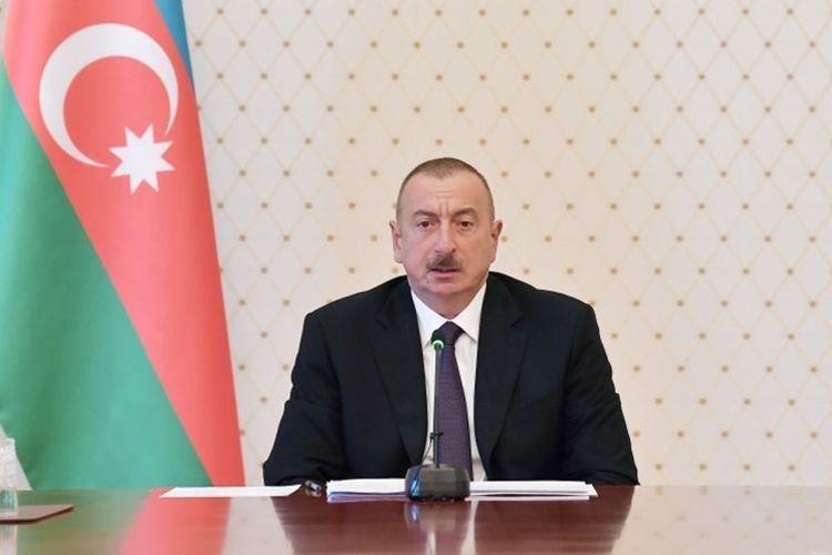Президент Ильхам Алиев поздравил президента Финляндии