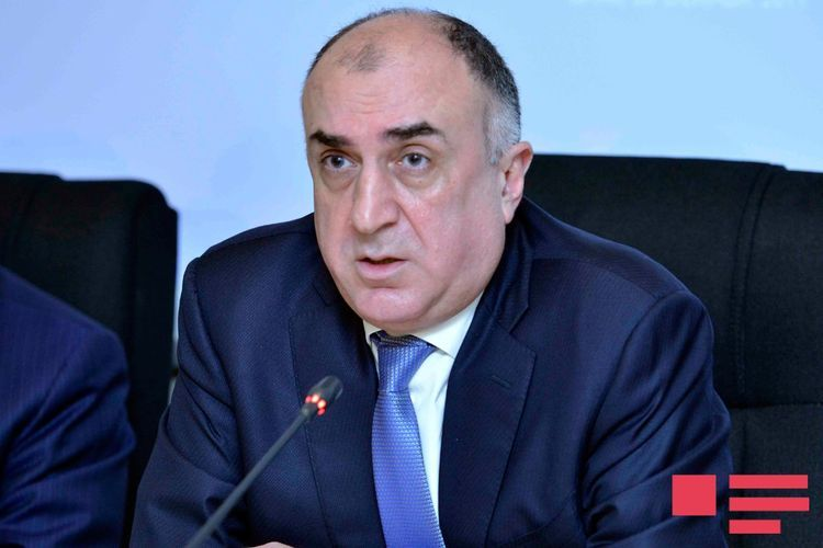 """Elmar Mammadyarov: """"Attempts to portray the Armenian community as """"the people of Nagorno Garabagh"""" deny the very existence of the indigenous Azerbaijani community of the region"""""""