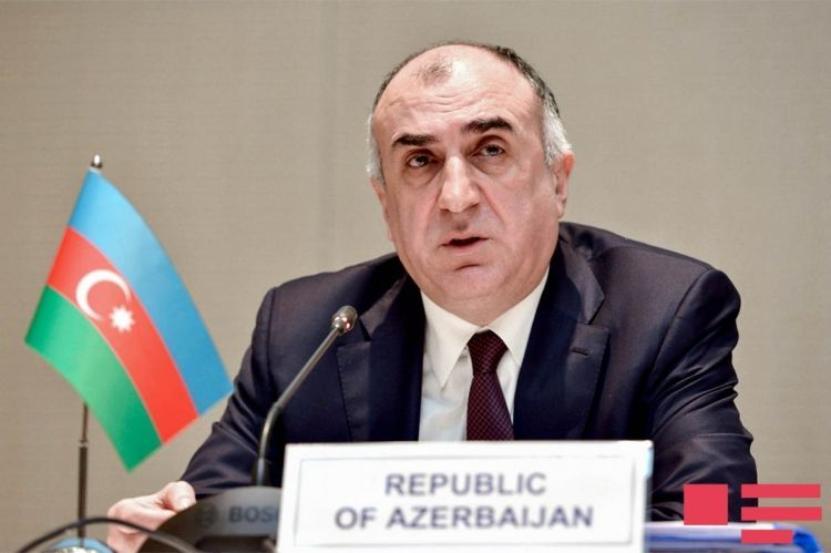 """Azerbaijani Foreign Minister: """"Armenia's persistent attempt to put forward the issue of status is a blow to the peace process"""""""
