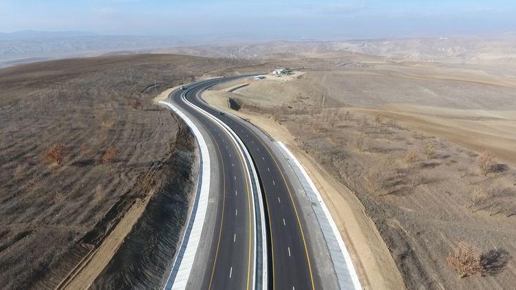President Ilham Aliyev inaugurated 101-117th km section of Baku-Shamakhi-Yevlakh highway