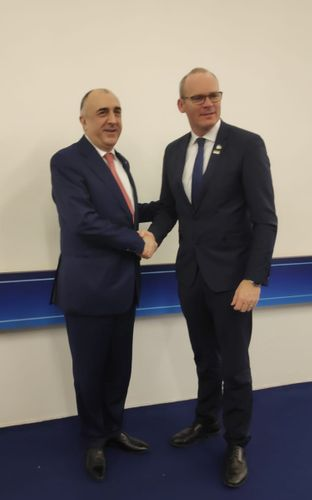 Azerbaijani Foreign Minister meets with the Minister for Foreign Affairs and Trade of Ireland