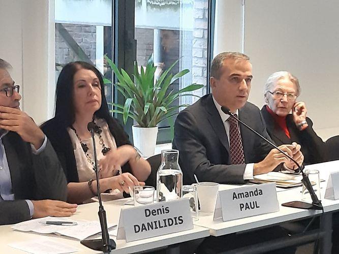 Round table held in Brussels regarding Azerbaijan