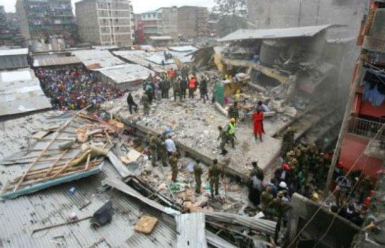 Keniyada bina çöküb, 2 nəfər ölüb
