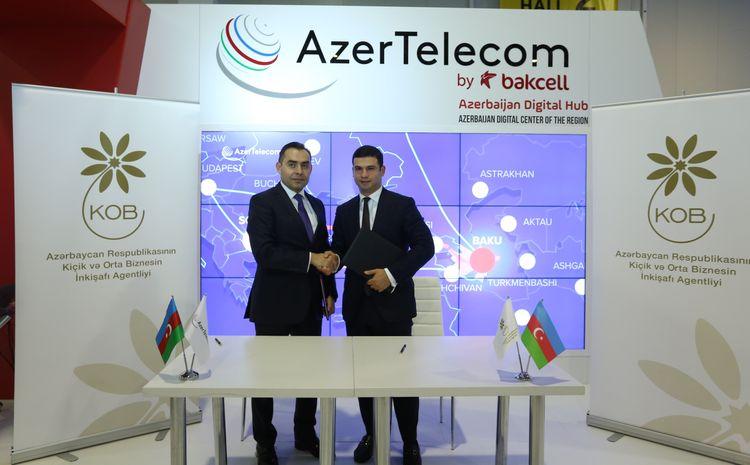 AzerTelecom будет сотрудничать с Агентством по развитию малого и среднего бизнеса