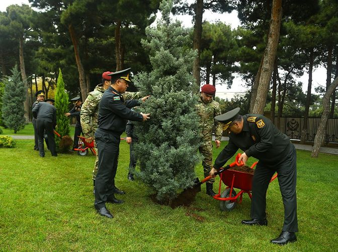 Ministry of Defense takes part in tree-planting campaign