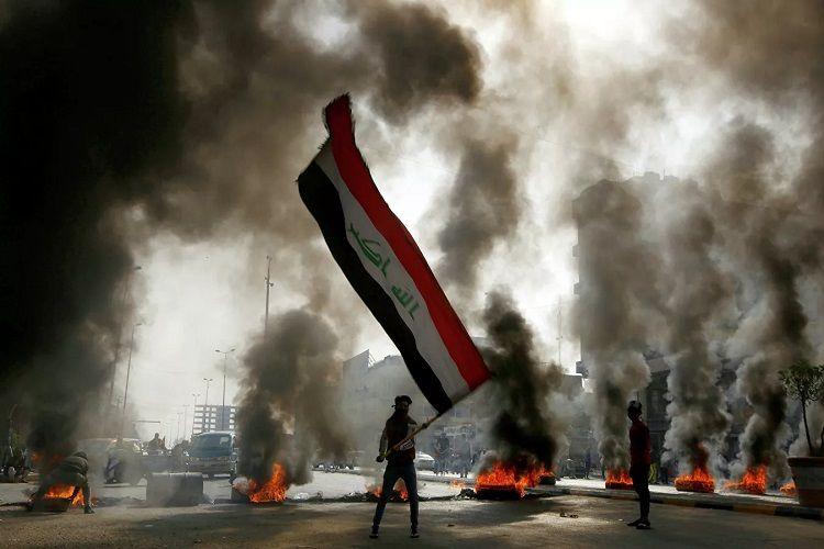 ABŞ Bağdad etirazlarındakı qətllərə görə üç iraqlını qara siyahıya salıb