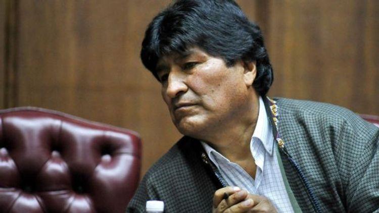 Evo Morales Meksikadan Kubaya gedib