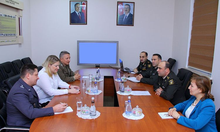 Azerbaijan and Poland's military legal experts held a meeting